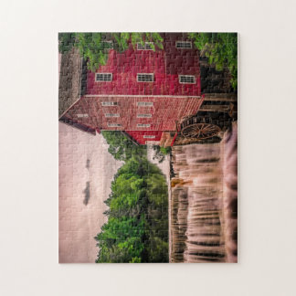 awesome waterfall house puzzle