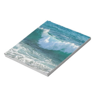 Awesome Wave sea shore nautical ocean nature Notepads
