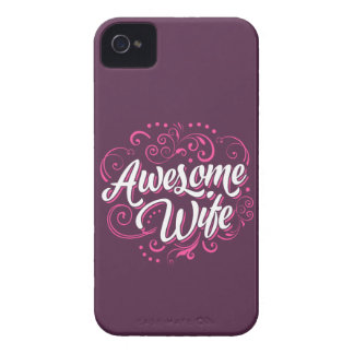 Awesome Wife iPhone 4 Cover