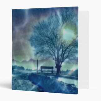 Awesome winter Impression 3 Ring Binders