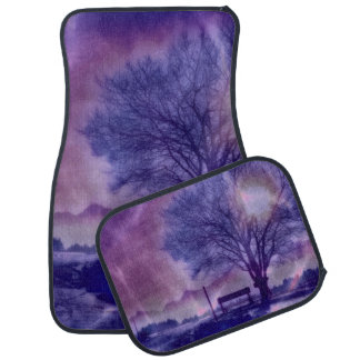 Awesome winter Impression B Car Mat