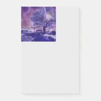 Awesome winter Impression B Post-it Notes
