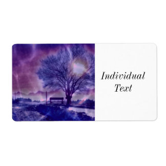 Awesome winter Impression B Shipping Label