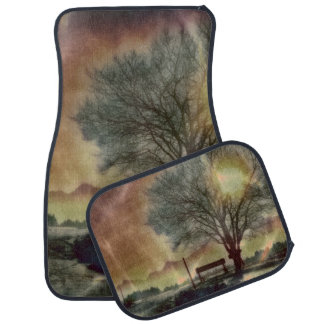Awesome winter Impression C Car Mat