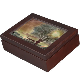 Awesome winter Impression C Keepsake Box