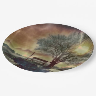 Awesome winter Impression C Paper Plate