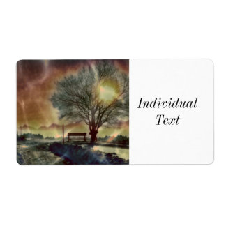 Awesome winter Impression C Shipping Label