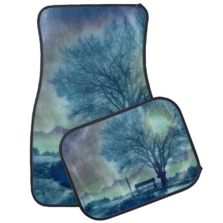 Awesome winter Impression Car Mat