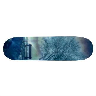 Awesome winter Impression Custom Skateboard