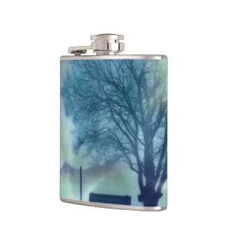 Awesome winter Impression Hip Flask