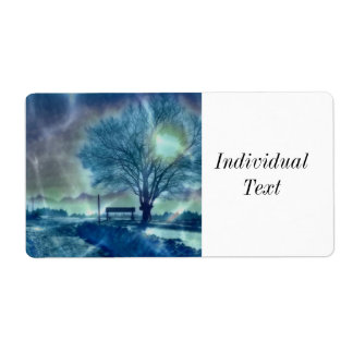 Awesome winter Impression Shipping Label