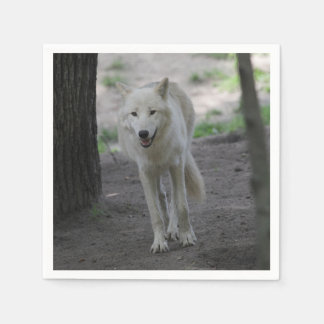 Awesome Wolf Paper Napkin