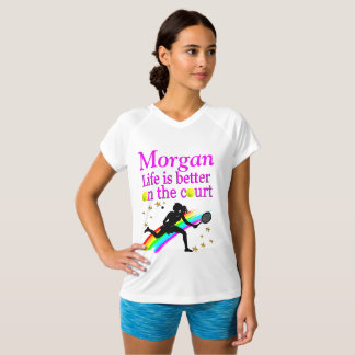 AWESOME WOMENS TENNIS PERSONALIZED T SHIRT