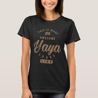 Awesome Yaya Looks Like T-Shirt