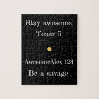 AwesomeAlex 123, puzzle