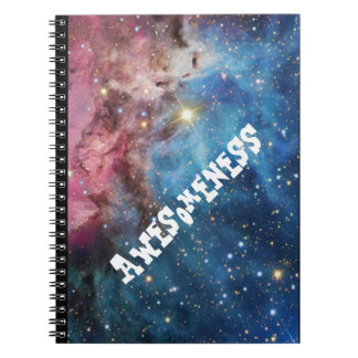 """""""Awesomeness"""" Notebooks. Spiral Note Books"""
