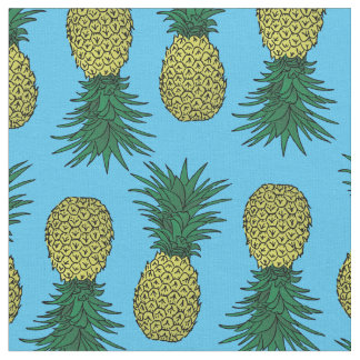 Awesomw pineapple pattern fabric
