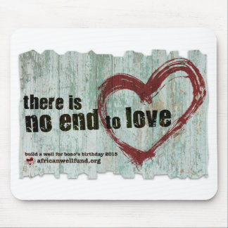 """AWF Mousepad 2015 """"There is no end to love"""""""