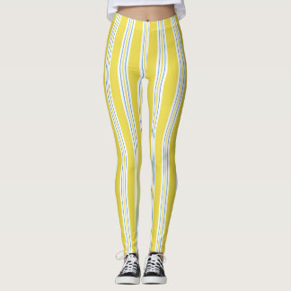 Awing Stripe - yellow Leggings
