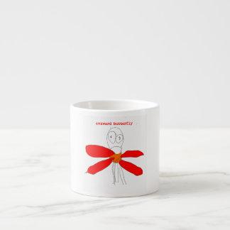 Awkward Butterfly Espresso Cup