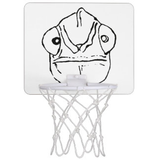 Awkward Chameleon Mini Basketball Hoop