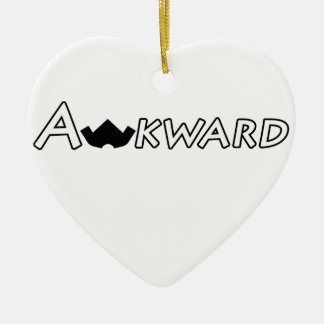 Awkward Objects & Apparel Ceramic Ornament