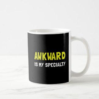 Awkward Specialty Classic White Coffee Mug