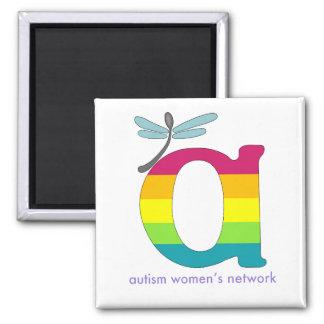 AWN Rainbow Pride Logo Magnet