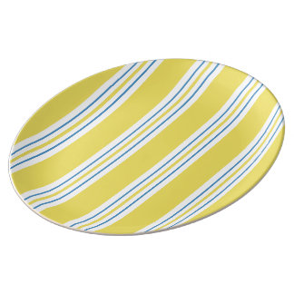 Awning Stripe - yellow Plate