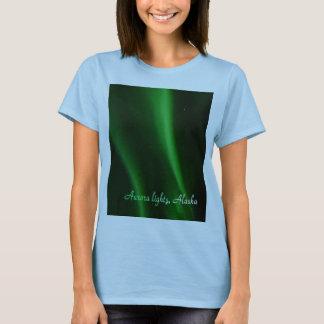 Awsome Aurora lights in Alaska, t-shirt