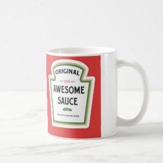 Awsome Sauce Mug Basic White Mug