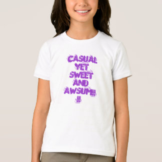 Awsum and Cool casual t-shirt