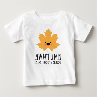 Awwtumn is my Favorite Season | Baby Shirt