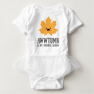 Awwtumn is my Favorite Season | Tutu Bodysuit