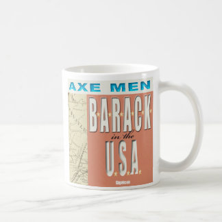 Axe Men B-A-R-A-C-K In The USA Mug