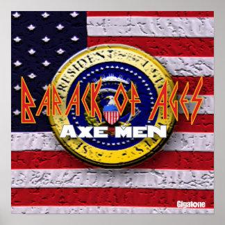 Axe Men Barack Of Ages Poster