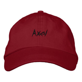 Axel cap regulable embroidered hats
