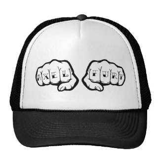 Axel Fury Fist Logo Trucker Trucker Hat