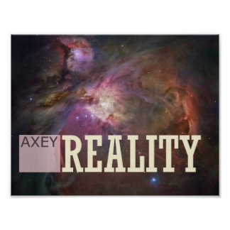Axey Reality - Customizable Poster