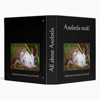 Axolotl 3 Ring Binder