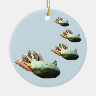AXOLOTL Christmas Ornament