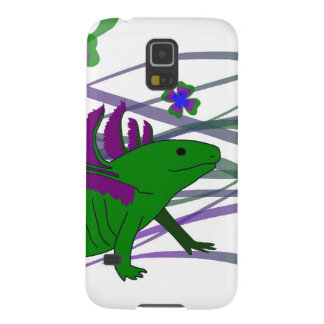 Axolotl green in the luck cases for galaxy s5