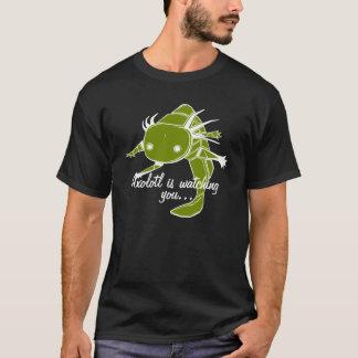 Axolotl is watching you...Wild type on dark bkg T-Shirt