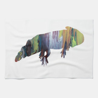 Axolotl Kitchen Towel