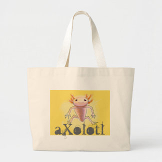 aXolotl Large Tote Bag