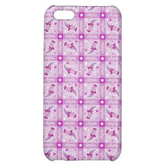 Axolotl Pink Plaid Pattern iPhone 5C Case