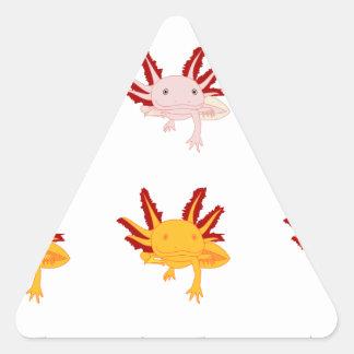 Axolotl sample stickers