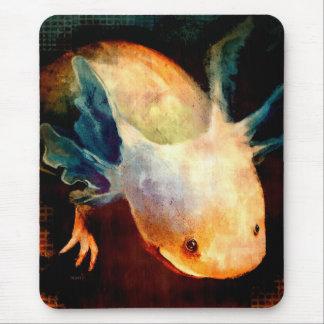 Axolotl Sun Mouse Pad