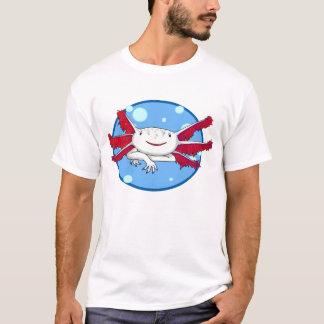 axolotl (white with spots) bubble shirt