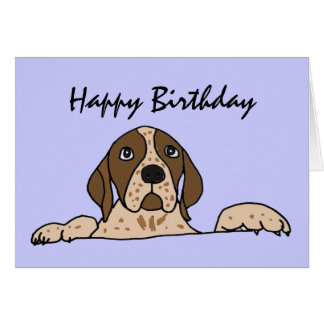AY- Hunting Dog Birthday Card